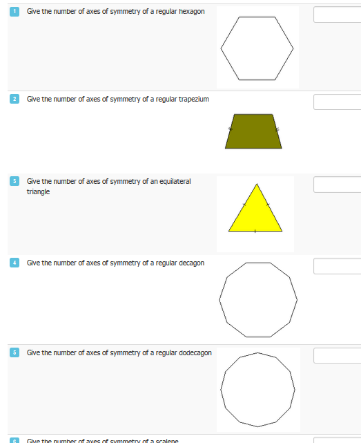 Example task on Symmetry